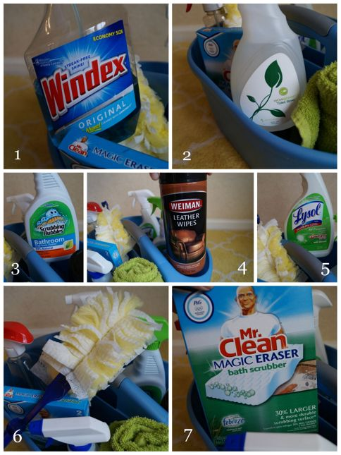 Favorite Cleaning Products