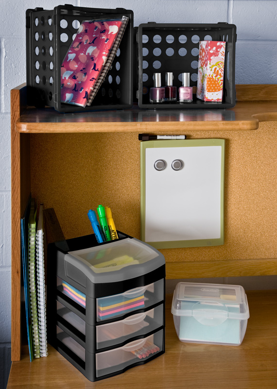 Great Grades Begin With Great Organization: Your Guide To College Dorm Room  Storage   Sterilite Corporationu0027s Blog Part 82