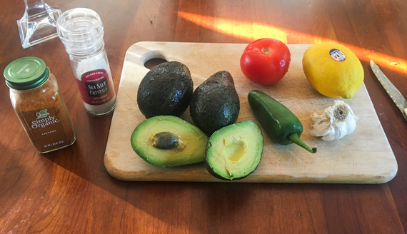 Guacamole-Ingredients